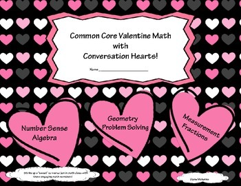 Valentine's Day Common Core Candy Hearts Math