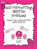 Valentine's Day Common Core Differentiated Self-Correcting