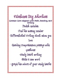 Valentine's Day Common Core ELA and Math Activities