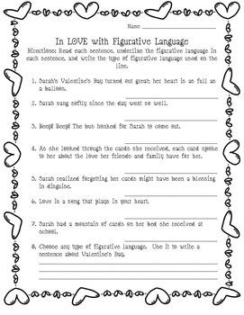 Valentine's Day Common Core Literacy Freebie