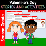 Valentine's Day Common Core Literacy - Original Stories and Activities 2nd grade