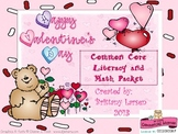 Valentine's Day Common Core Math and Literacy Activities