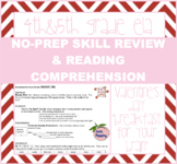Valentine's Day Themed Multi-Skill Practice - week of ela&math practice