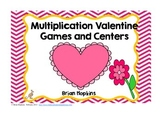 Valentines Day Common Core Multiplication Games