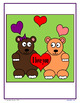 Valentine's Day Color by Number (fourth grade) Color by Mu