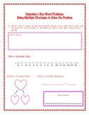 Valentine's Day Common Core Word Problems Using Multiple S