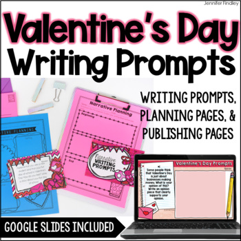 Valentine's Day Common Core Writing: Opinion, Informative, and Narrative