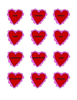Valentine's Day Common and Proper Noun Sort