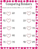 Valentine's Day - Compare Numbers