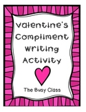 Valentine's Day Compliment Writing Activity