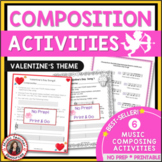 Valentine's Day Music Composition Activities