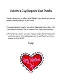 Valentine's Day Compound Word Puzzles