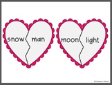 Valentine's Day Compound Words - First Grade CCSS