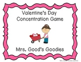 Valentine's Day Concentration Game