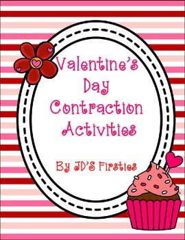 Valentine's Day Contraction Activities