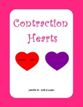 Valentine's Day Contraction Hearts