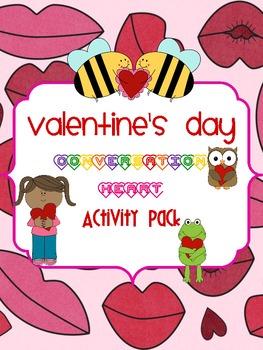 Valentine's Day Conversation Heart Activity Pack
