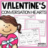 Valentine's Day - Conversation Heart Math Fun {FREE}