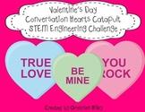 Valentine's Day Conversation Hearts Catapult STEM Engineer