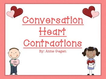Valentine's Day Conversation Hearts Contractions