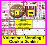 Valentine's Day Activities Onset Rime Blending Level 1