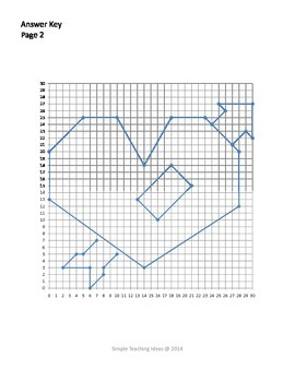 valentine 39 s day coordinate graphing first quad only heart 2 more. Black Bedroom Furniture Sets. Home Design Ideas