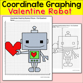 Valentine's Day Math: Coordinate Graphing Mystery Picture Robot