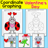 Valentine's Day Math Coordinate Graphing Ordered Pairs