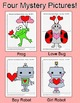 Valentine's Day Math Coordinate Graphing Ordered Pairs - Mystery Pictures