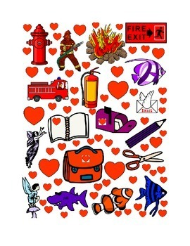 #11 Valentine's Day Count the Number of Hearts Printout