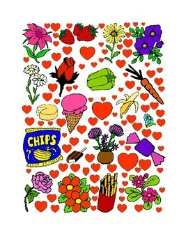 #12 Valentine's Day Count the Number of Hearts Printout