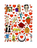 #14 Valentine's Day Count the Number of Hearts Printout