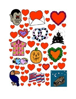 #15 Valentine's Day Count the Number of Hearts Printout