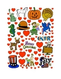 #16 Valentine's Day Count the Number of Hearts Printout