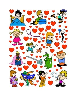 #18 Valentine's Day Count the Number of Hearts Printout