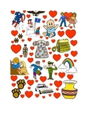 #22 Valentine's Day Count the Number of Hearts Printout
