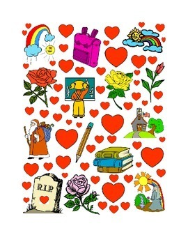 #23 Valentine's Day Count the Number of Hearts Printout
