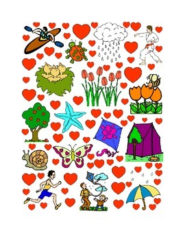 #25 Valentine's Day Count the Number of Hearts Printout