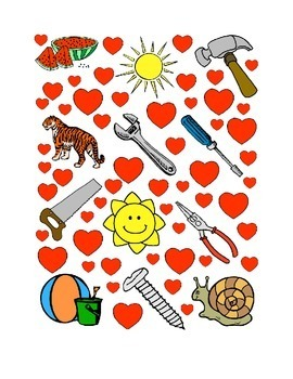 #26 Valentine's Day Count the Number of Hearts Printout