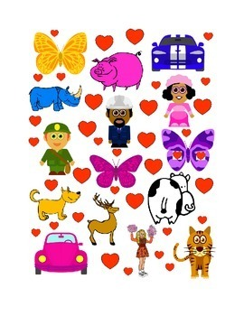 #3 Valentine's Day Count the Number of Hearts Printout