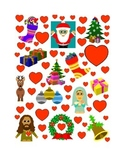 #5 Valentine's Day Count the Number of Hearts Printout