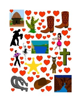 #7 Valentine's Day Count the Number of Hearts Printout
