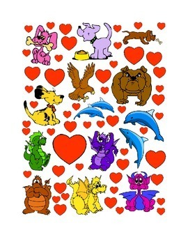 #8 Valentine's Day Count the Number of Hearts Printout