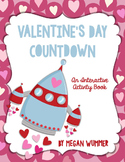 Valentine's Day Countdown Activity Book