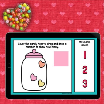Valentines Day Counting Activity