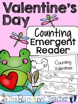 Valentine's Day Counting Emergent Reader