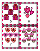 Valentines Day Counting Flash Cards 1-20