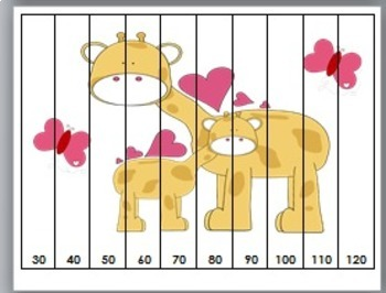 Number Puzzles  - Valentine's Day Math