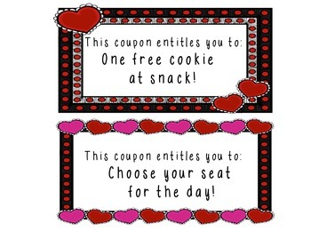 Valentine's Day Coupon Booklet Gifts