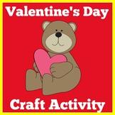 Valentine's Day Craft Craftivity